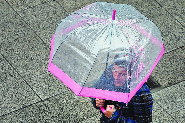 Estos días conviene llevar encima el paraguas