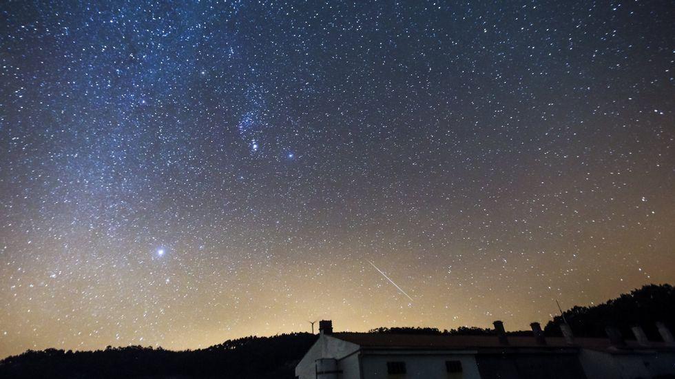 En streaming la lluvia de estrellas de las Gemínidas del 14 de diciembre del 2015.Melina Alonso, en una imagen reciente