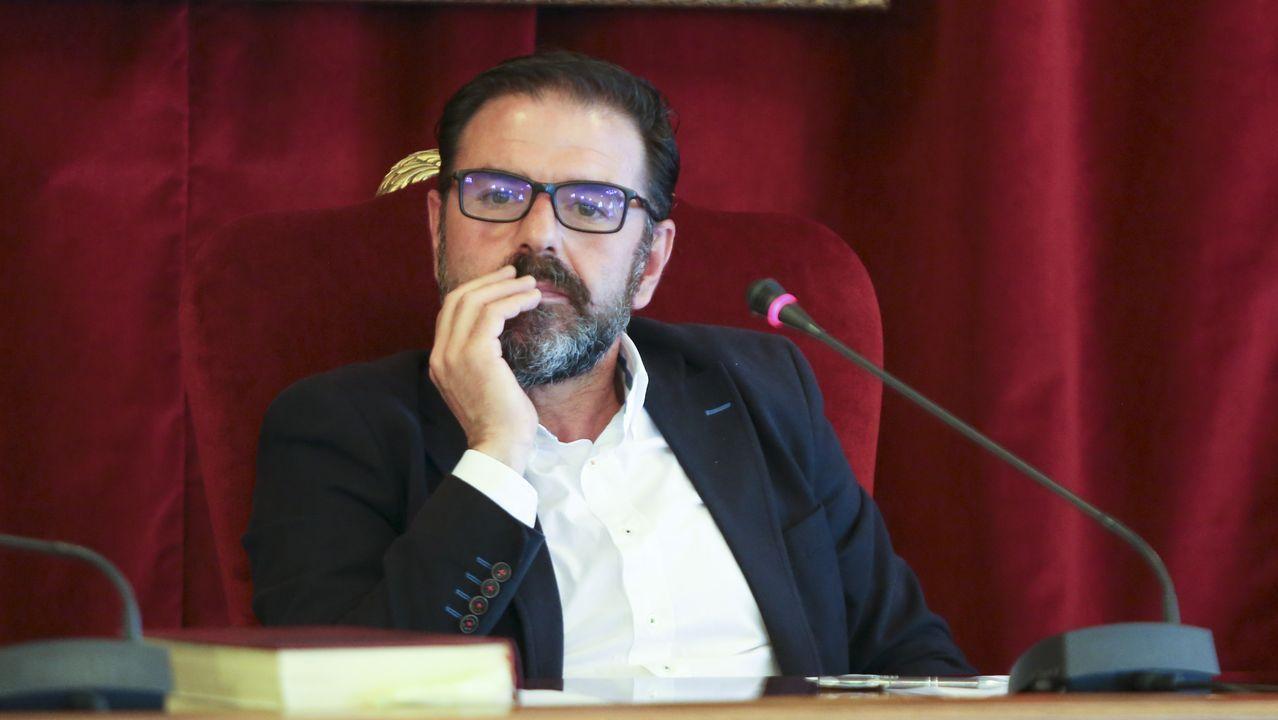 Ángel Mato, alcalde socialista de Ferrol, y José Manuel Rey Varela, del PP.