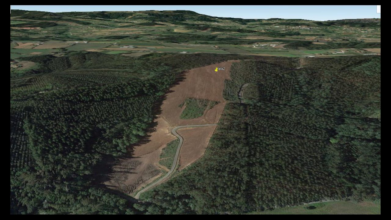 El paso del Félix en la comarca coruñesa.Tala