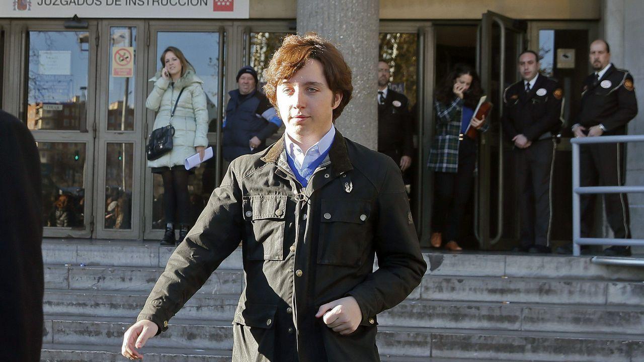 El pequeño Nicolás triunfa en San Mateo.Imagen de archivo del comisario Villarejo, que está en prisión preventiva