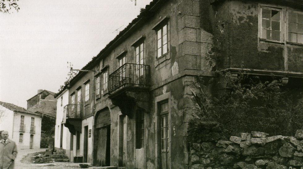 Casa natal del escritor.