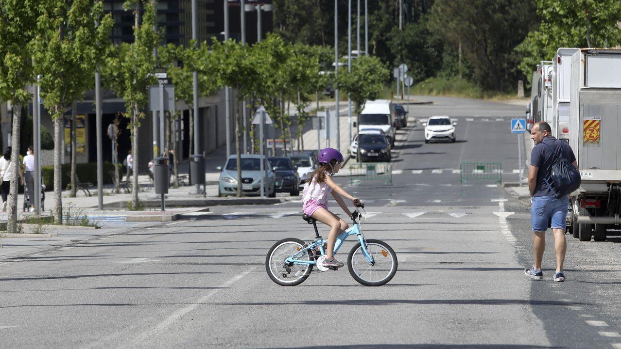 Peatonalización de viales en Ames