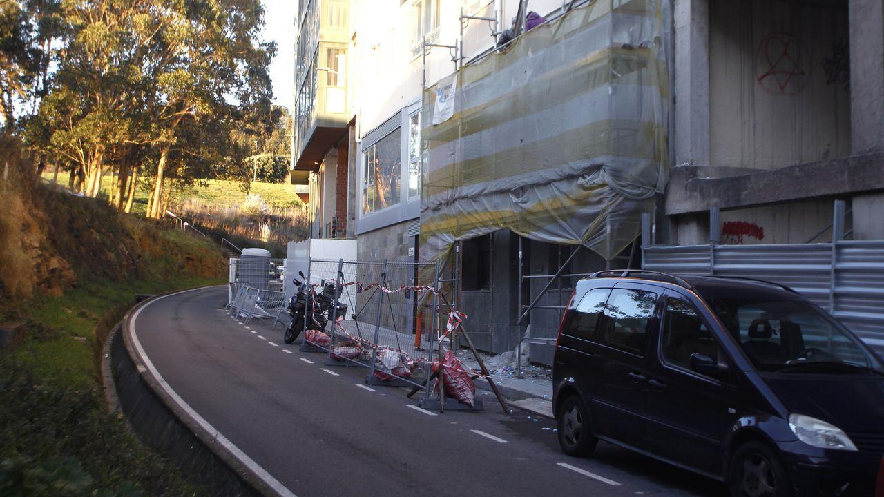 En calles con menos comercio, como Simón Bolívar, son donde más abundan las viviendas en bajos