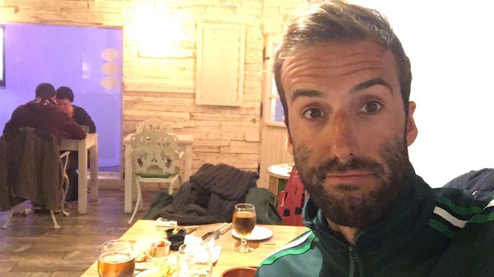 Álvaro Ojeda en una foto en su perfil de twitter.Álvaro Ojeda en una foto de su perfil de twitter
