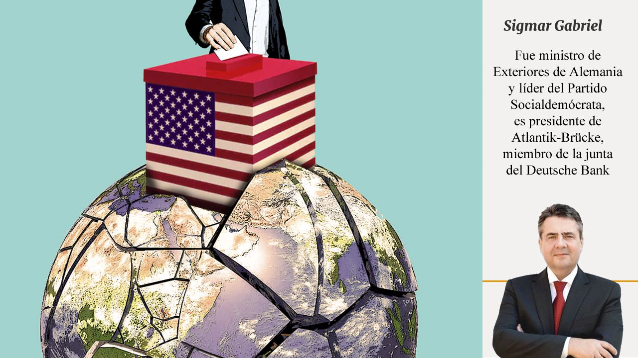 Gumersindo Brito, un jubilado de origen cubano defensor de la candidatura de Donald Trump