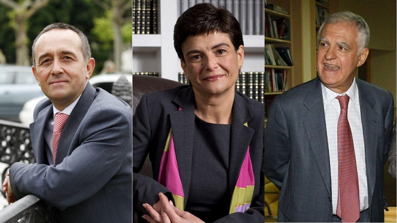 Entra en vigor el nuevo decreto de alquiler.En la imagen, de izquierda a derecha, Ángel Martín, Antonia Magdaleno y Antonio Moreno