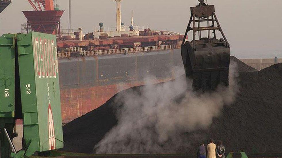 Un cargamento de carbón