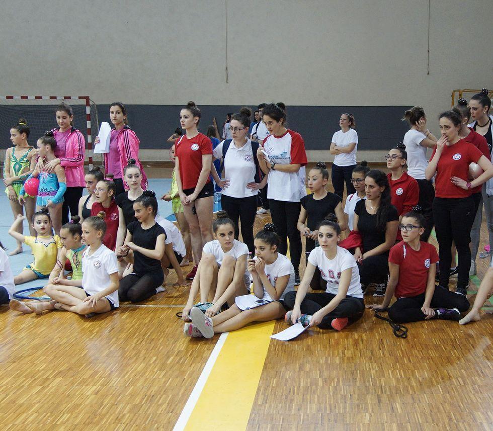 Las participantes disfrutaron del espectáculo.