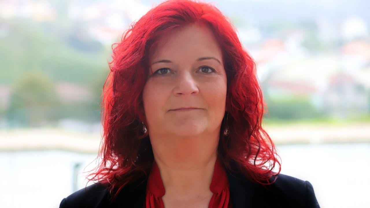 Mar Piñeiro, candidata del PSOE en Fene