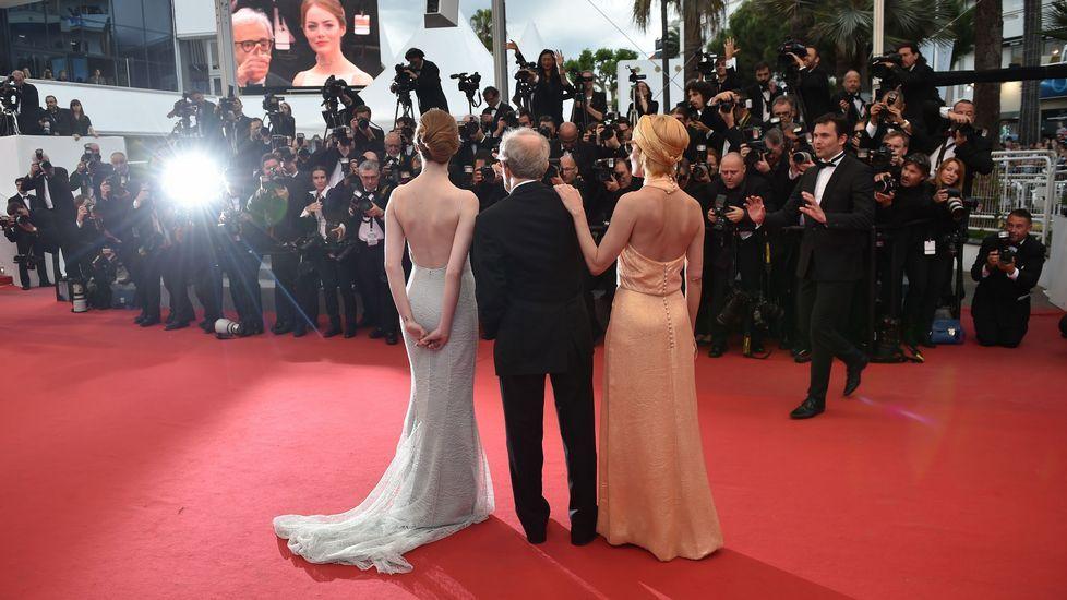 Emma Stone, en la alfombra roja de Cannes