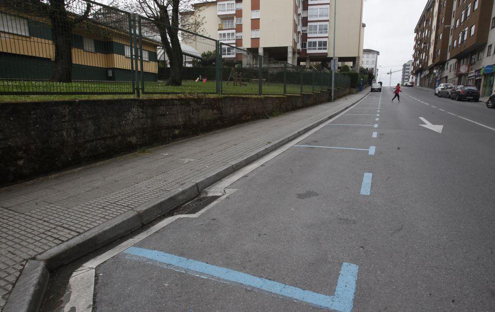 Hay calles, como la Galicia, en las que la ORA apenas tiene uso durante una gran parte del día.