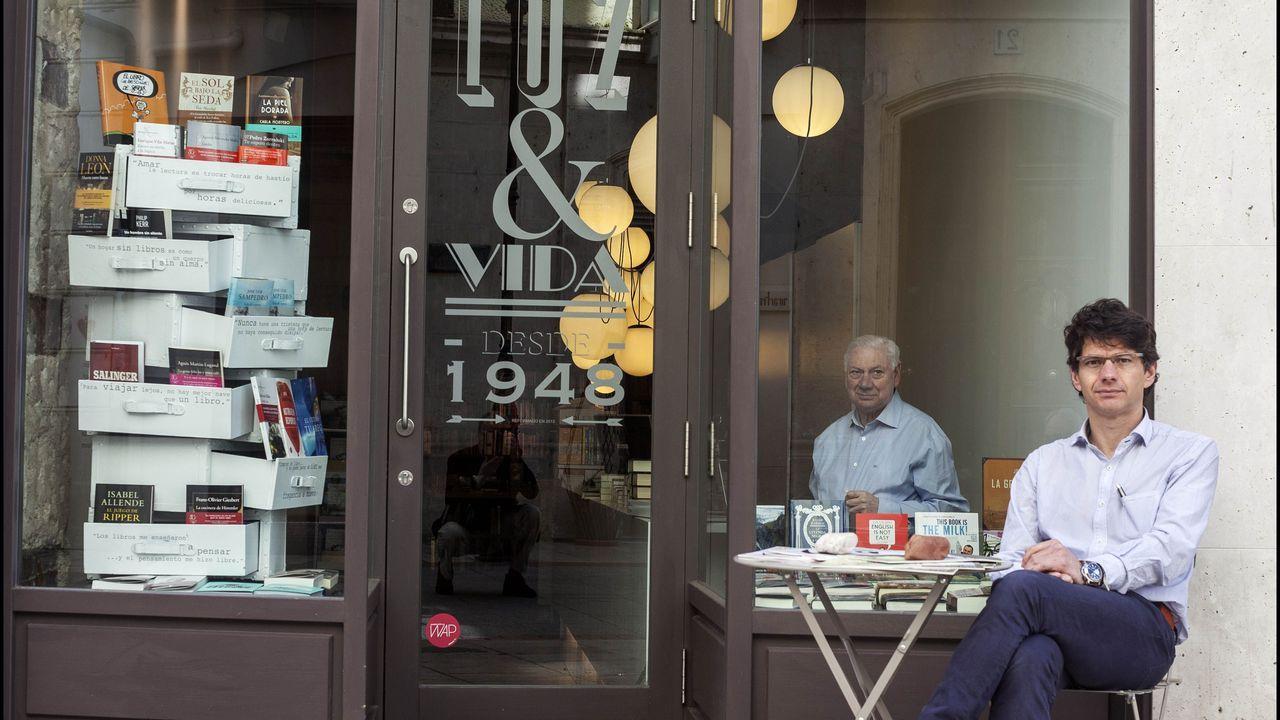 Los libreros Manso, de Burgos, en pie desde 1948