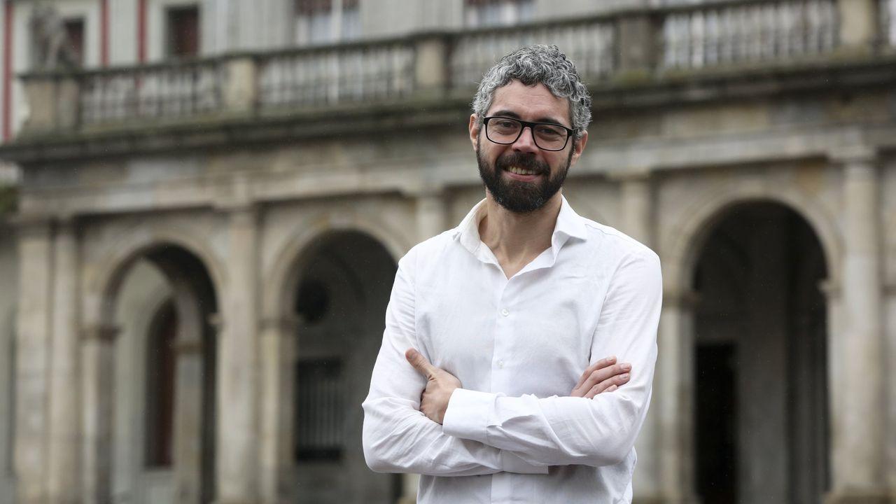 Luis Seara, portavoz municipal del BNG en Ourense