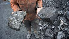 Antracita, un tipo de carbón con mayor poder calorífico que la hulla.