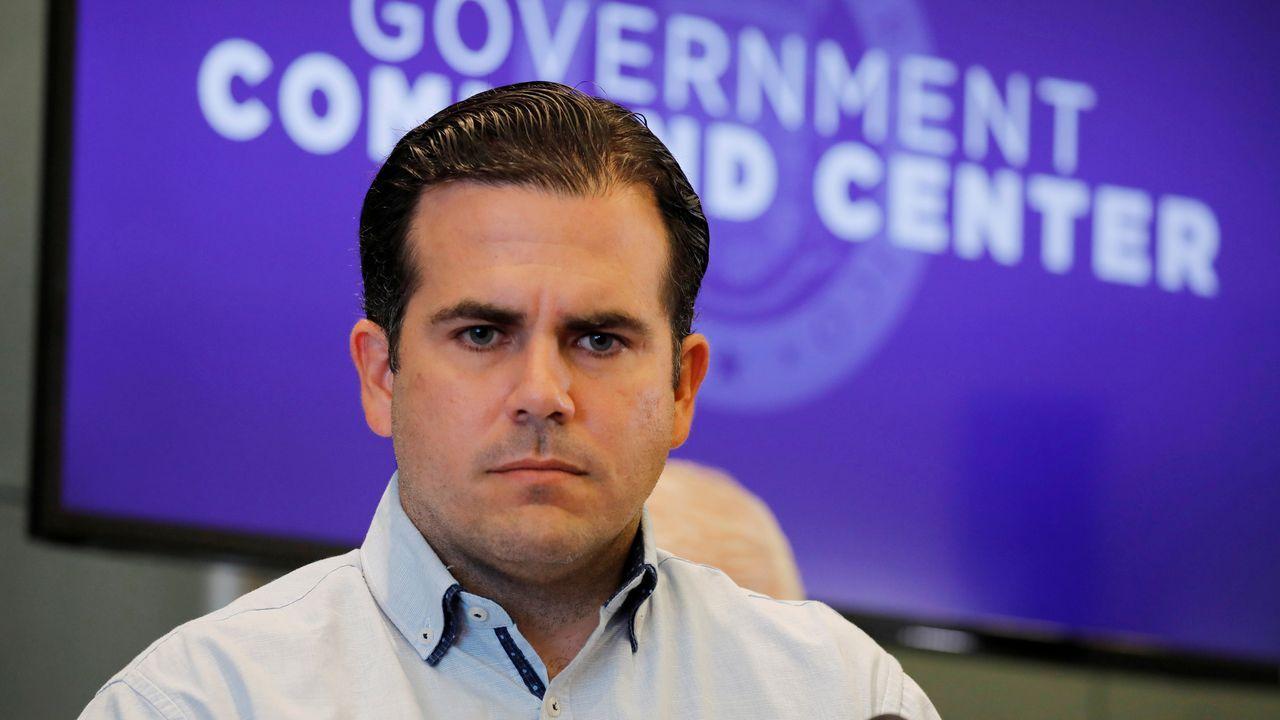 El actual gobernador de Puerto Rico, Ricardo Rossello
