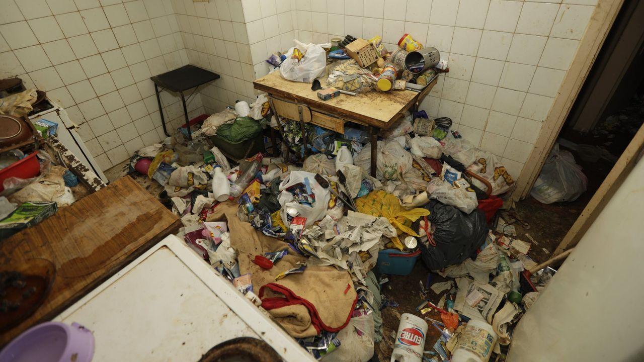 Imagen de archivo de la vivienda de una persona con conductas de acumulación
