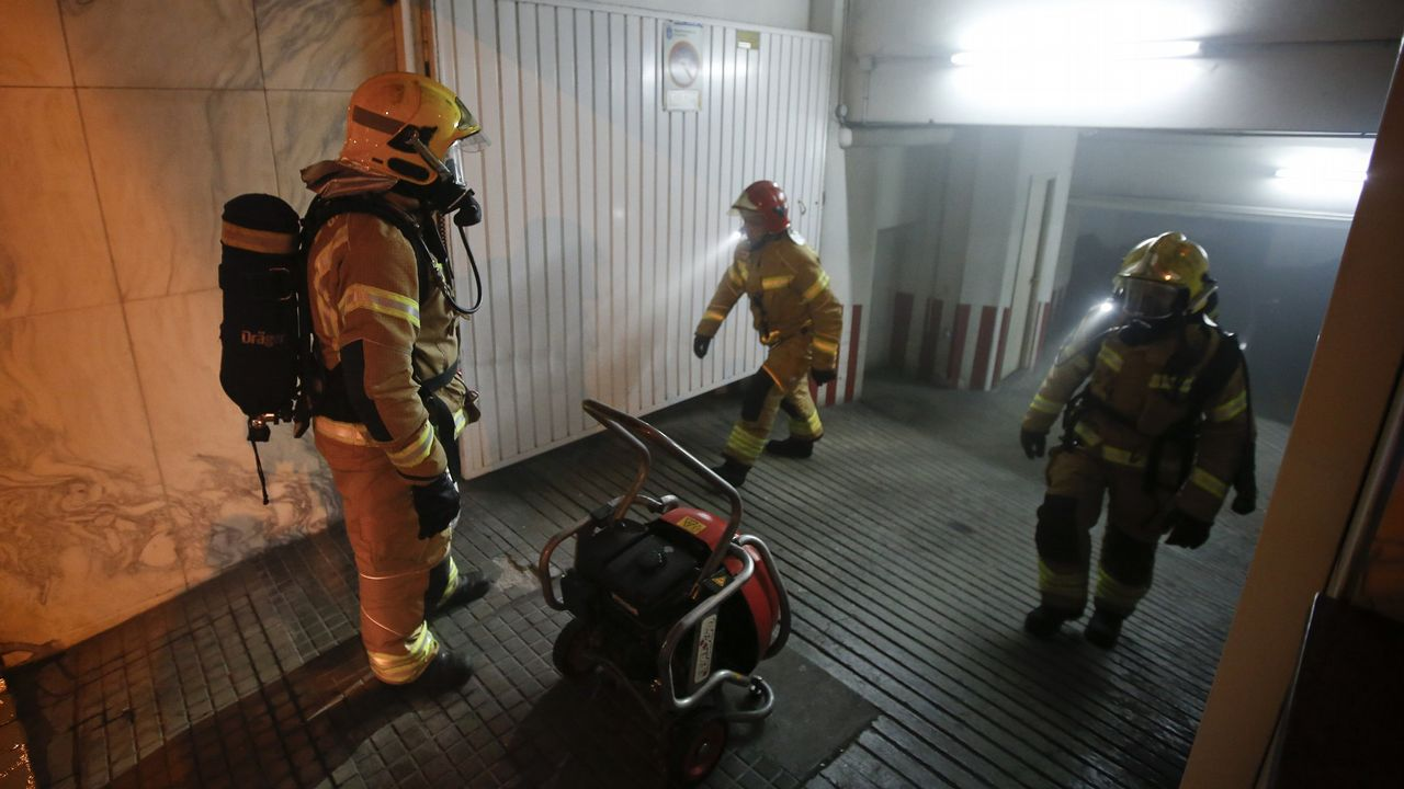 Imagen de archivo de una intervención de los bomberos de Arteixo