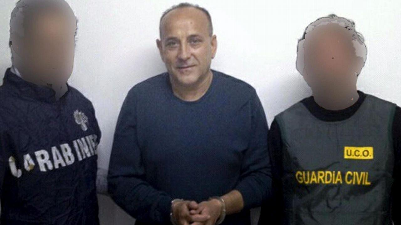 Giuseppe Polverino, jefe de la Camorra del clan Polverino, que fue detenido en el 2012 en Jerez de la Frontera por los carabineros con ayuda de miembros de la Unidad Central Operativa (UCO) de la Guardia Civil.