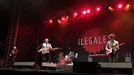 Un concierto de Ilegales