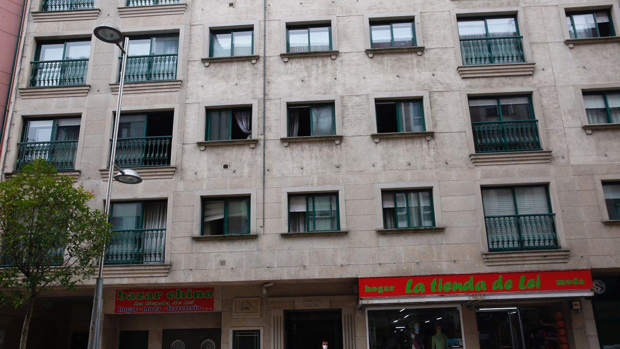 Foto de archivo de los Bombeiros de Vilalba