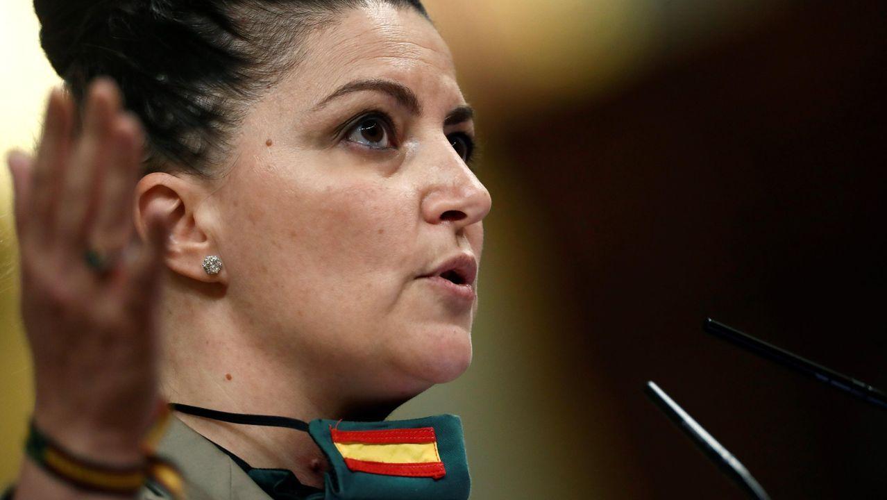 Macarena Olona, diputada de Vox en el Congreso