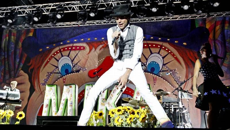 «Gangman Style» del rapero surcoreano PSY.El cantante, durante una actuación en Vig¡o hace dos años