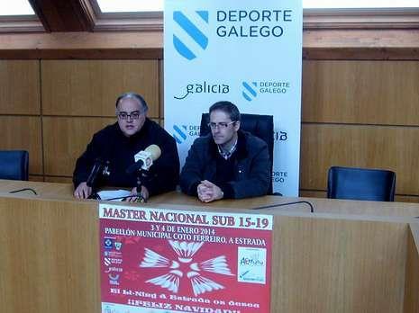 Rodrigo Sanjurjo e Ismael Pena presentaron ayer la actividad.