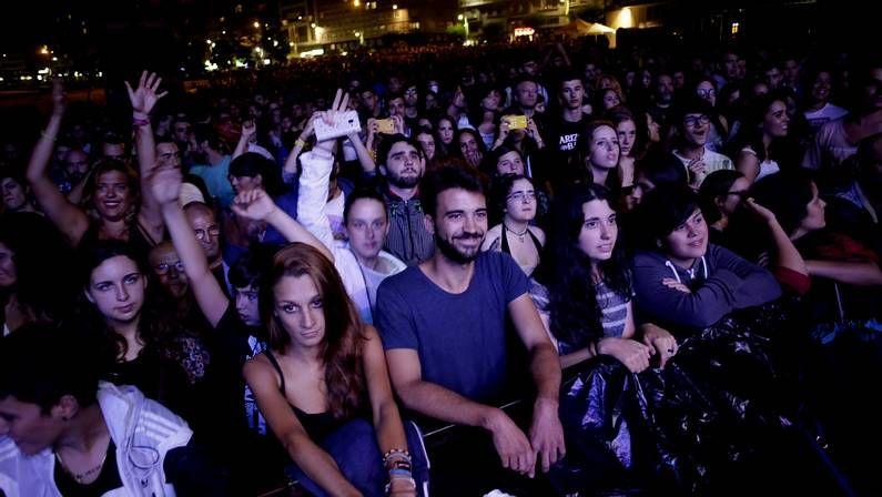 Público en la jornada de ayer del Noroeste Pop Rock