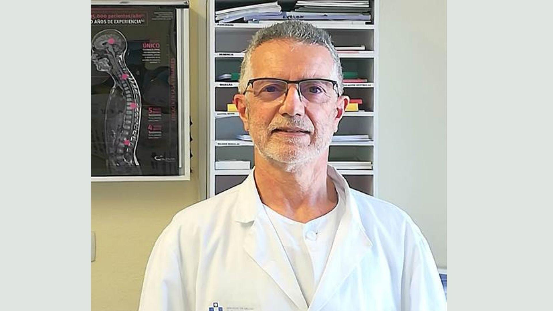 El neurólogo Dionisio Fernández Uría