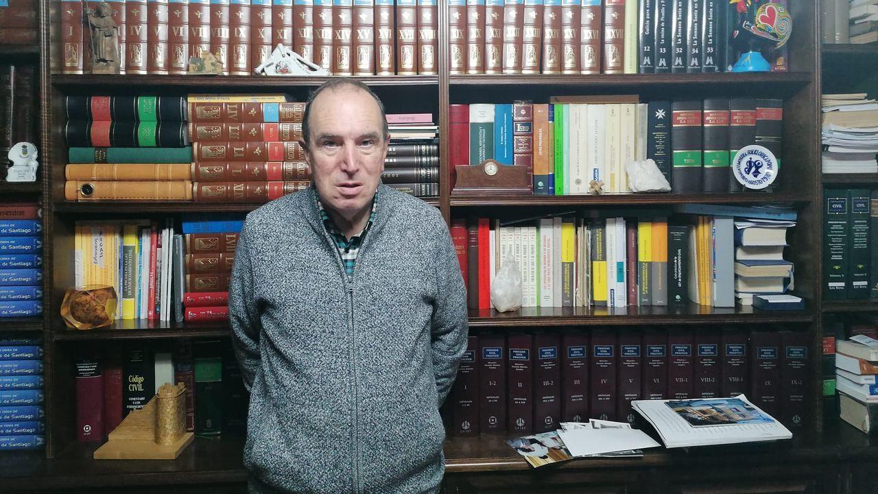 López Arias donó un archivo histórico al Concello de Sarria para preservar la memoria de la comarca