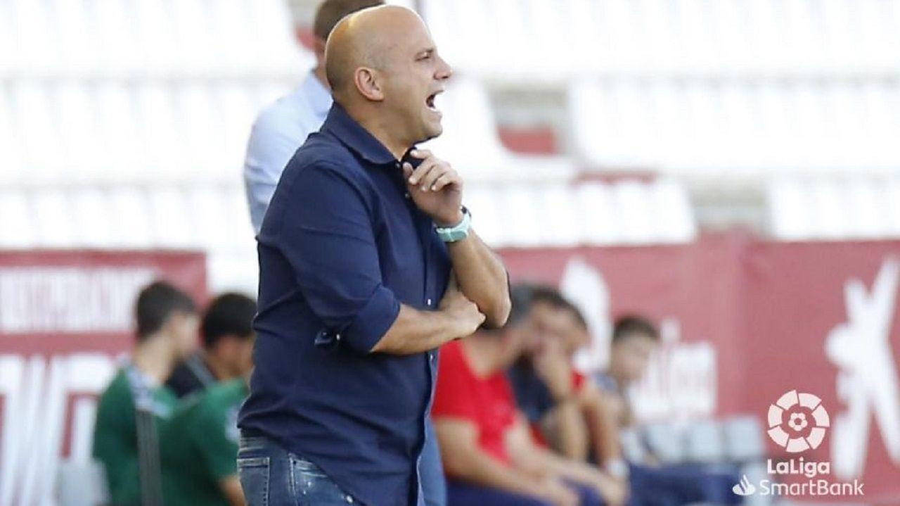 Rozada Real Oviedo Carlos Tartiere.Javi Rozada en el Carlos Belmonte