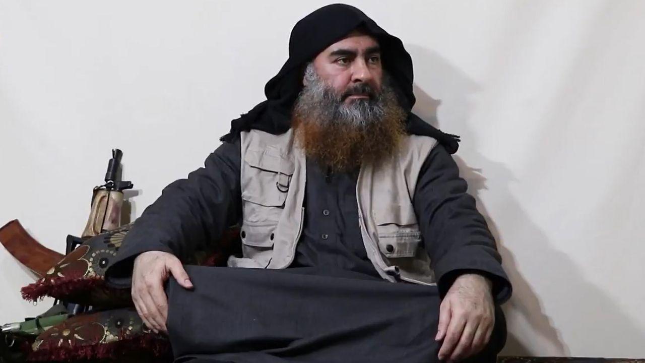 Al Bagdadi, líder del grupo yihadista Estado Islámico