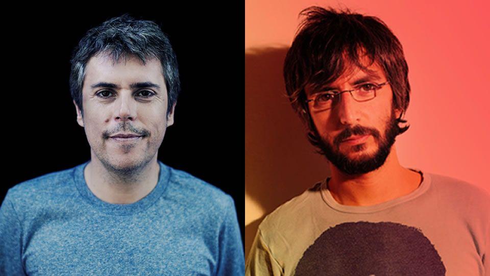 Iván Ferreiro, exvocalista de Los Piratas, y Xoel López