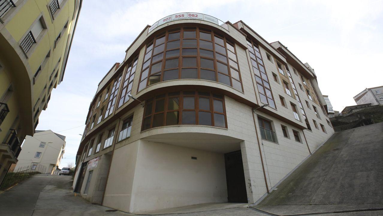 Feria de Muestras de Asturias.Una de las galerías comerciales de la Feria de Muestras de Asturias