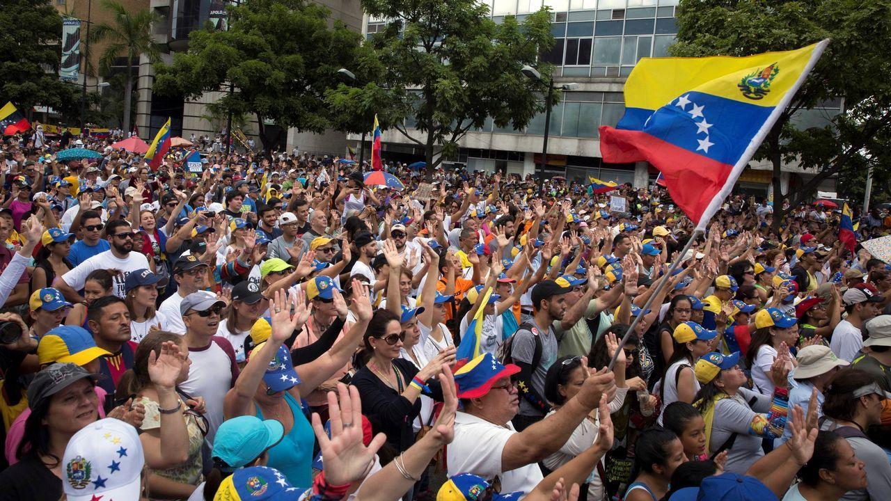Los alumnos extranjeros de la USC, los mejores embajadores de sus países.Oposición venezolana