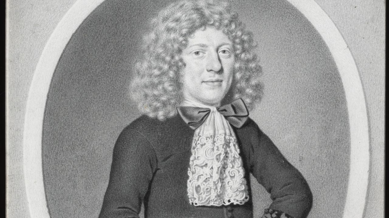 trazosseis.¿UNA FOTO? Lo parece pero este «Retrato de un hombre de 24 años» se hizo a mano con lápiz de plomo por Johann Thopas en 1684