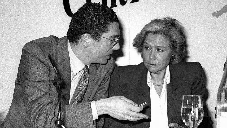 Ana Mato 2.Rosa Posada y Alberto Ruiz Gallardón en el año 1994