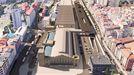 ASÍ SERÁ EN A CORUÑA. La intermodal incorporará al entorno de San Cristóbal, entre las vías del tren y la avenida de A Sardiñeira (a la derecha, en la imagen), una nueva terminal de autobuses comunicada con la estación de ferrocarril, a la que Renfe prevé traer la alta velocidad en el verano del 2022.