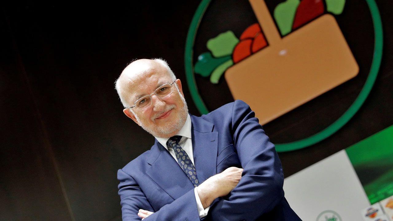 3. JUAN ROIG ALFONSO. El accionista mayoritario de Mercadona se queda con el tercer puesto con una fortuna de 3.700 euros.