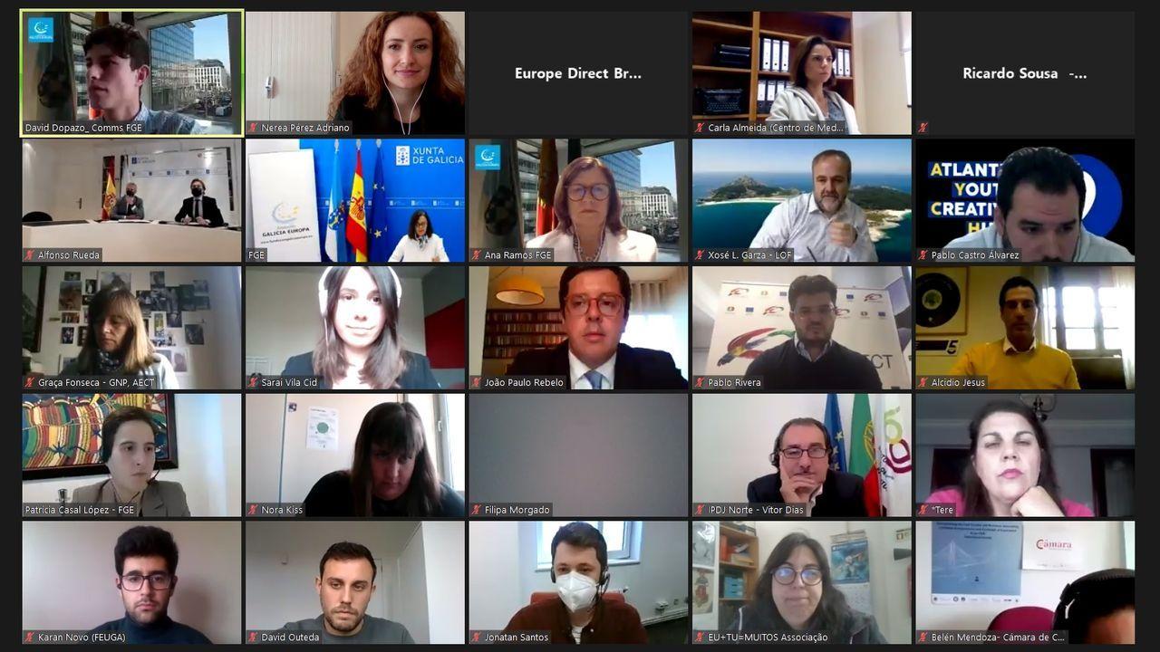 Presentación de la campaña turística Camiña Galicia del Xacobeo 21-22.Los mensajes de apoyo a la compañía en redes sociales son numerosos