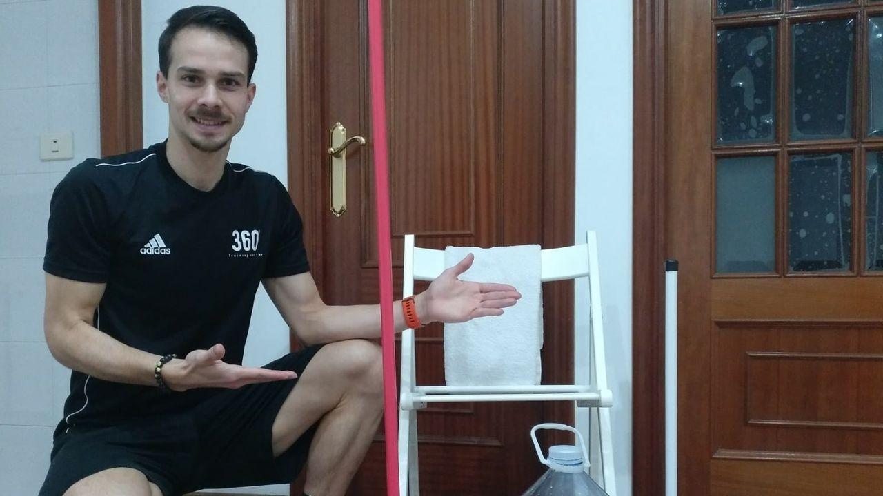 Iago Barro te ayuda a ponerte en forma en casa.Saul Craviotto (d) y Cristian Toro (i) celebran la medalla de oro conseguida en el K2 200m masculino de canotaje de volcidad hoy, jueves 18 de agosto de 2016, durante los Juegos Olímpicos Río 2016, en el lago Rodrigo de Freitas de Río de Janeiro