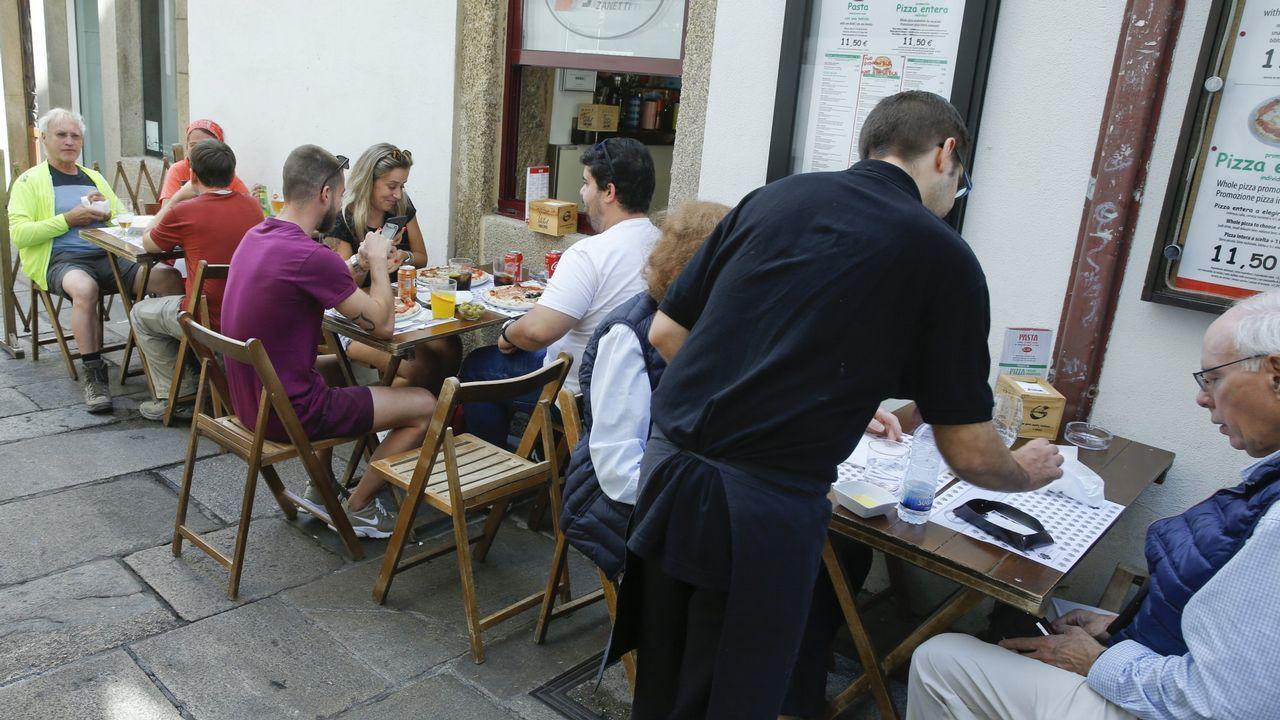 Hostelería y construcción son los sectores que aglutinan más mano de obra portuguesa en Galicia