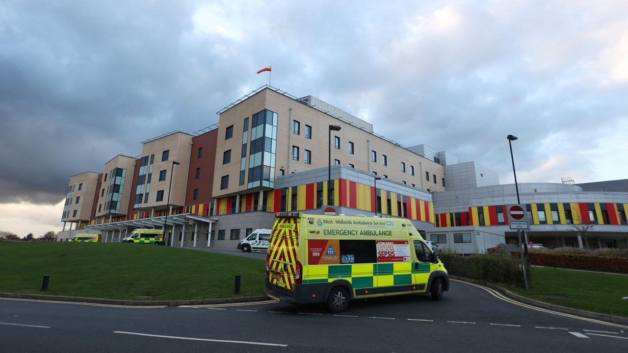 Imagen de archivo de un hospital britanico