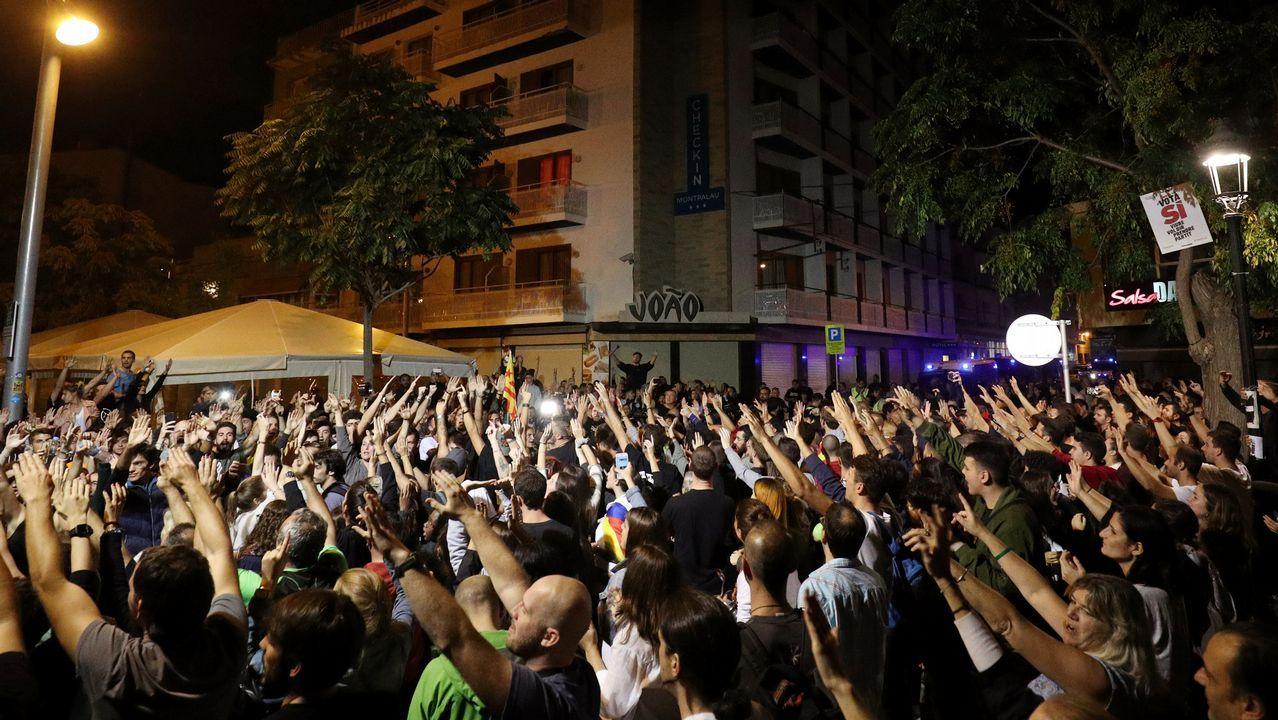 La jornada de huelga enCataluña, en imágenes