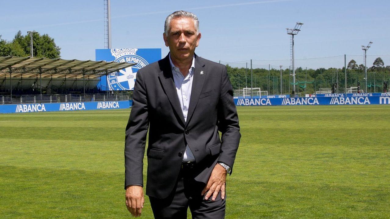 Diegui Johannesson Nahuel Real Oviedo Barcelona B Carlos Tartiere.Longo en un Tenerife-Rayo Vallecano