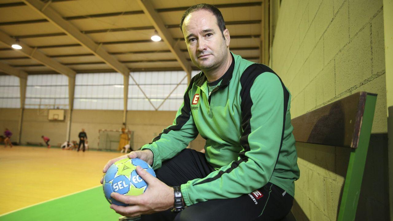 Las imágenes del balonmano Cisne- Córdoba.Liberbank