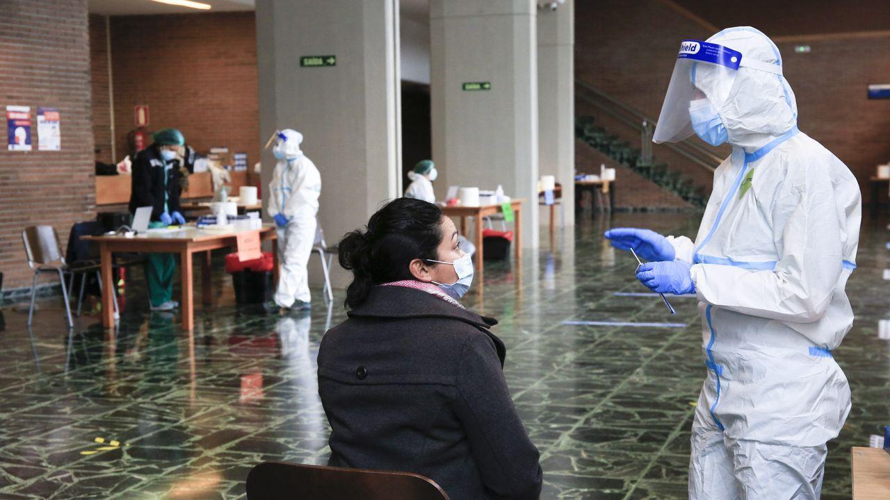 Cribado en el Campus de Lugo