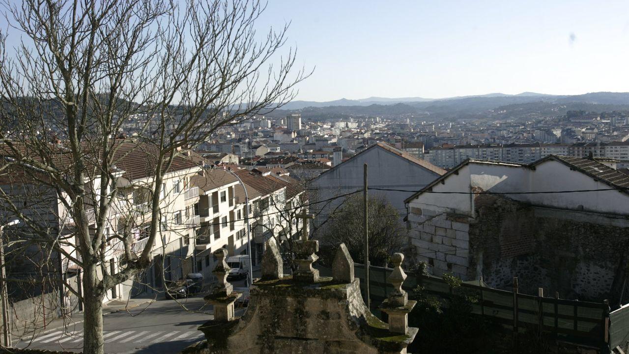 Vista desde el pazo de Guizamonde