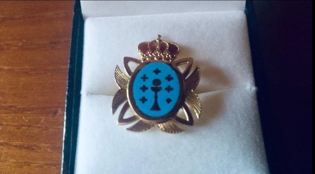 Una de las insignias empleadas durante la legislatura 2005-2009